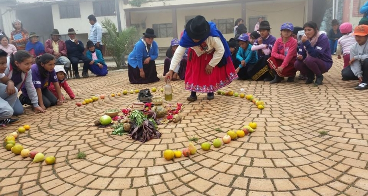 CHONTAMARCA - MANIFESTACIONES CULTURALES EN LA PARROQUIA.