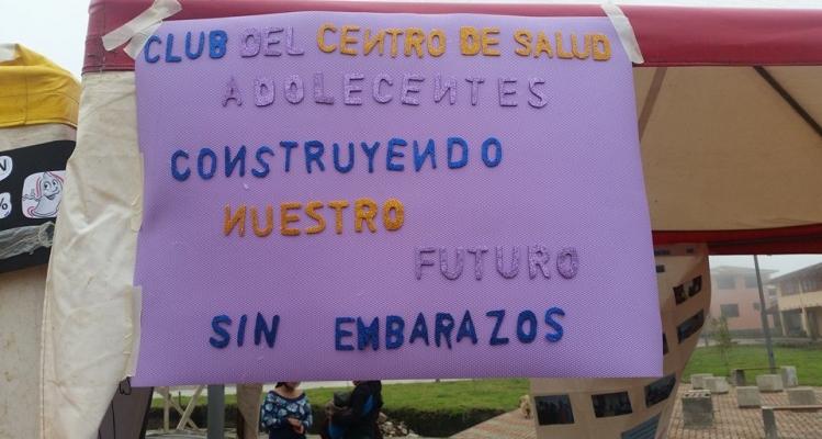 FERIA - PREVENCIÓN DE EMBARAZO EN ADOLESCENTES.